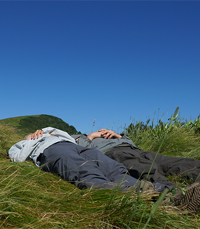 Laying on the mountain