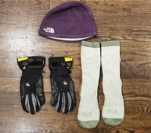 Hat Socks and Gloves