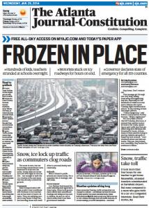 Snowmageddon Atlanta 2014