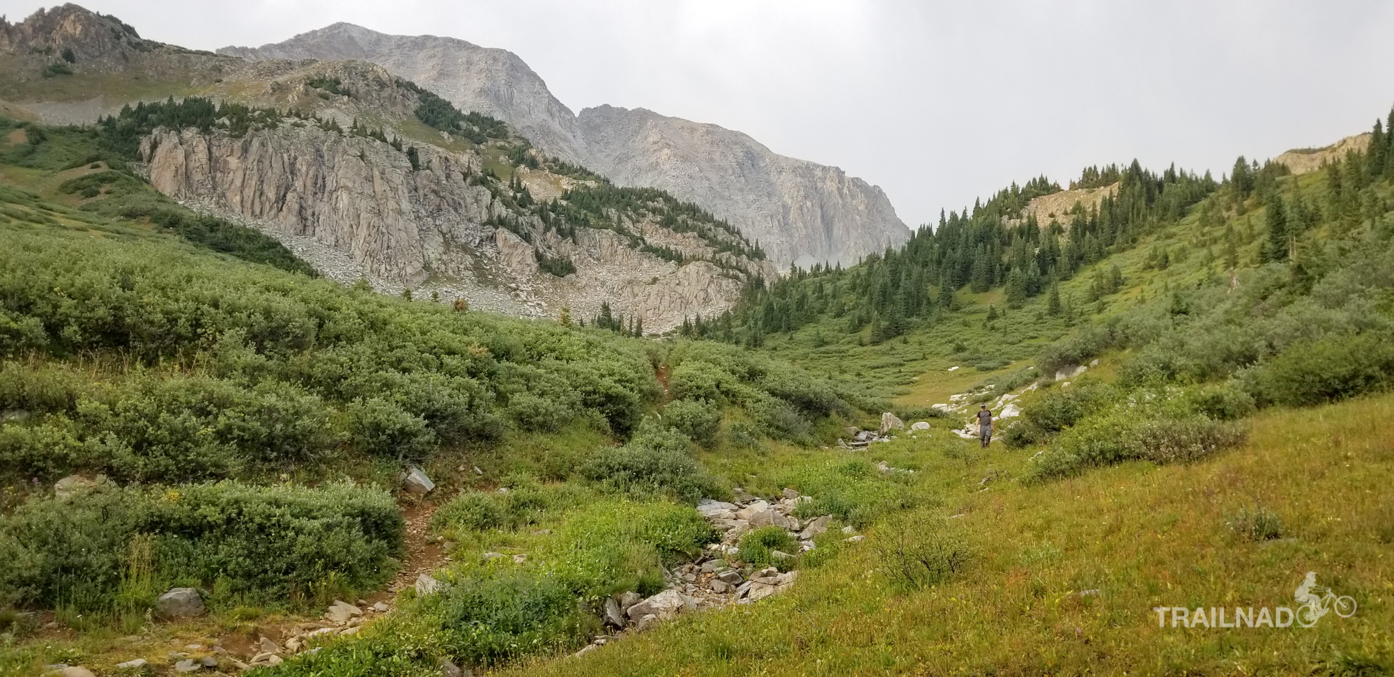 Second night on Four Pass Loop