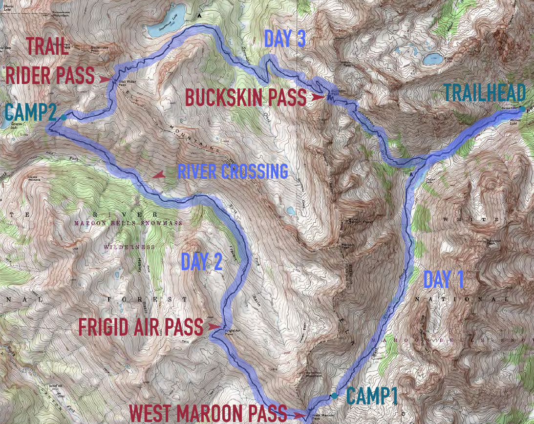 Four Pass Loop