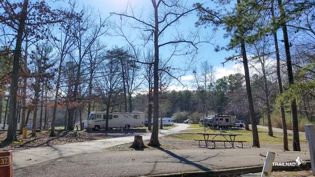 Campground at Oak Mountain State Park
