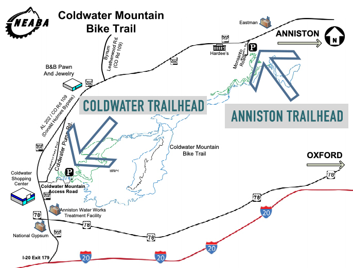 Trailheads at Coldwater Mountain