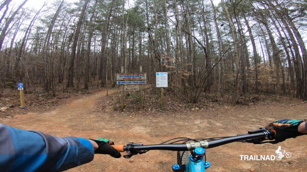 Entrance to Dwelling Trail