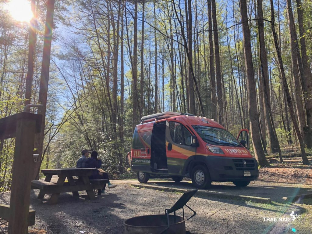 Camping at Davidson River Campground